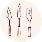 logo terra e forme produzione e vendita semilavorati per ceramica Faenza italia