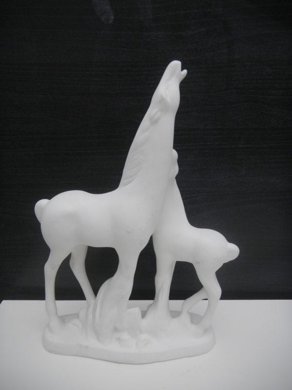 cavalli semilavorato da decorare ceramica faenza italia